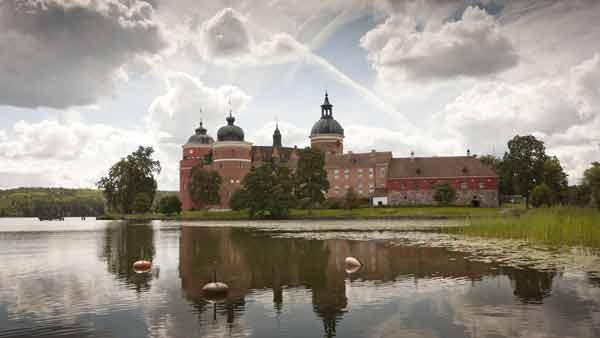 Schloss Gripsholm am Mälarsee