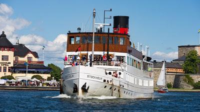 Ausflug nach Vaxholm in die Hauptstadt des Stockholmer Schärengartens