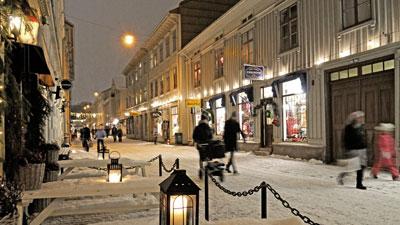 Stadtviertel Haga in Göteborg