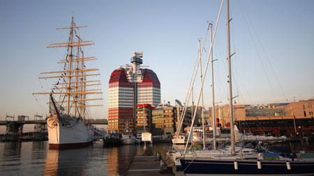 Hafen Lilla Bommen in Göteborg