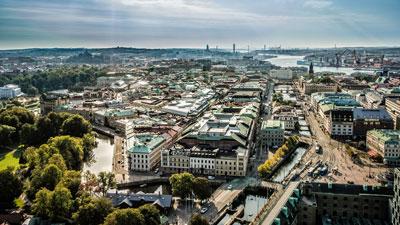 Bild von Göteborgs Innenstadt