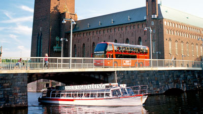 Sightseeing mit Strömma in Stockholm