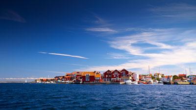 Tjörn und Orust an der Küste von Bohuslän in Westschweden
