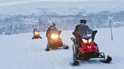 Nordschweden: Winter in Schwedisch Lappland im Norden von Schweden