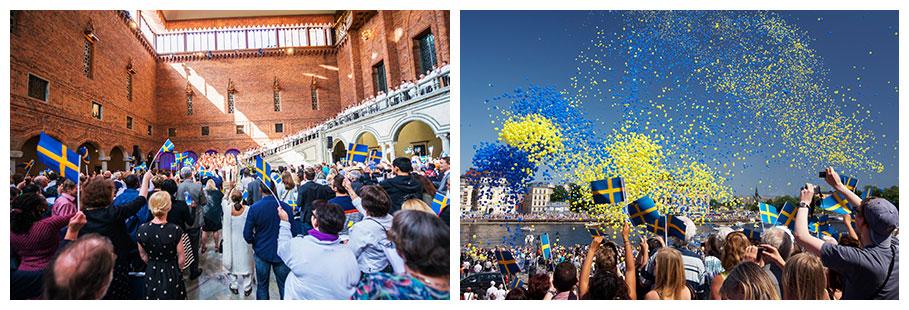 Nationalfeiertag-Schweden