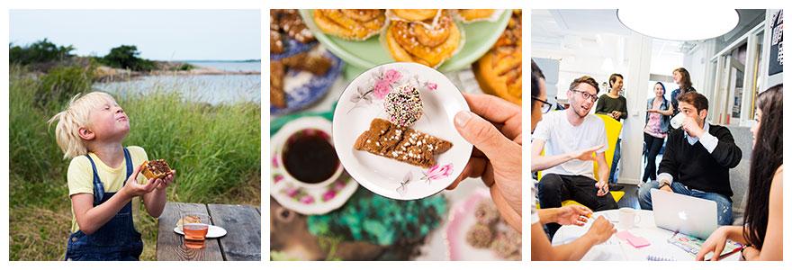 Fika in Schweden: Kaffeepause auf Schwedisch in der Natur, im Café und Büro