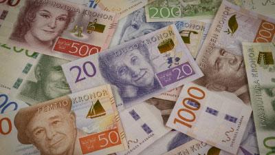 Geld in Schweden: Schwedische Geldscheine
