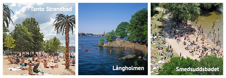 Baden und Schwimmen in Stockholm: Die besten Badeplätze