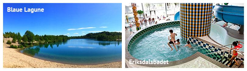 Baden in Stockholm: kinderfreundlicher Badestrand, Freibad, Schwimmbad, Erlebnisbad, Abenteuerbad, Kinderbad