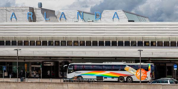 Flughafentransfer: Vom Flughafen Arlanda in das Zentrum von Stockholm