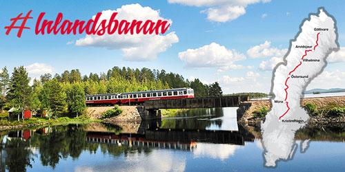 Inlandsbanan in Schweden: Die schwedische Inlandsbahn