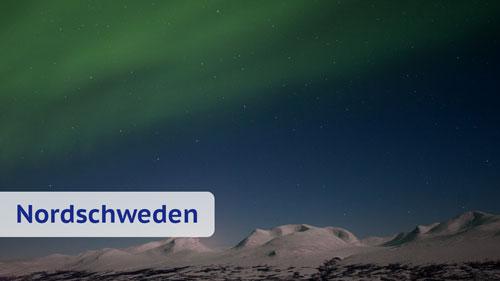 Nordlichter in Nordschweden