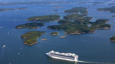 Kreuzfahrt nach Schweden: Cruise durch die Schären von Stockholm