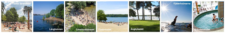 Baden mit Kindern in Stockholm: Kinderfreundliche Badeplätze
