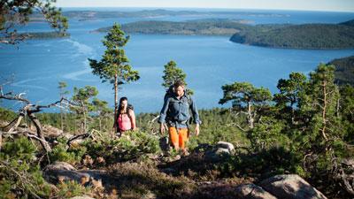 Nordschweden: Landschaft in Schwedisch Lappland im Norden von Schweden