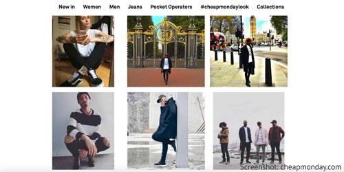 Mode von Cheap Monday aus Schweden