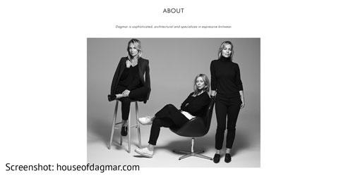 Damenmode von Dagmar aus Schweden