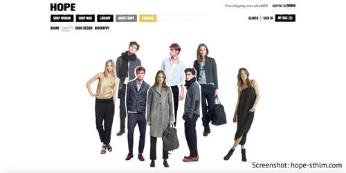 Skandinavische Mode aus Schweden von Hope