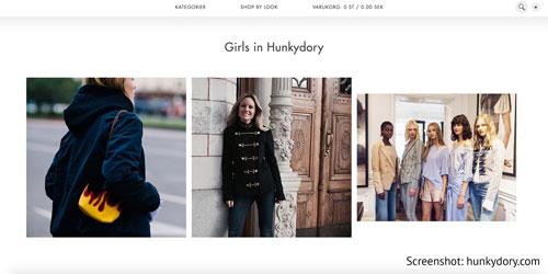 Schwedische Damenmode von Hunkydory aus Stockholm