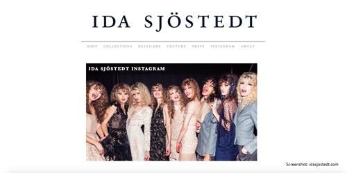 Designermode aus Schweden von Ida Sjoestedt