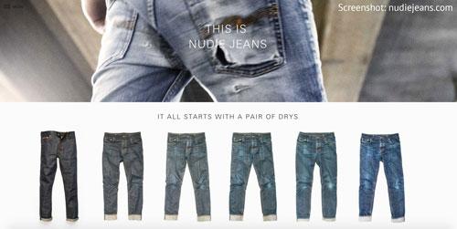Jeansmode aus Schweden von Nudie Jeans