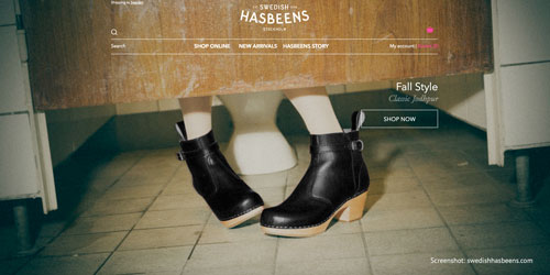Holzschuhe und Clogs von Swedish Hasbeens aus Schweden