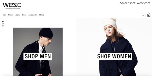 Kleidung aus Schweden von WESC