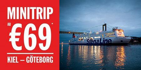 Geschenkidee Schwedenreise: Trip mit der Fähre nach Göteborg