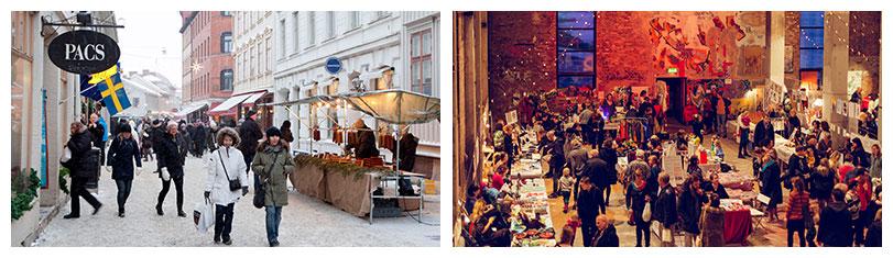 Weihnachtsmarkt in Göteborg