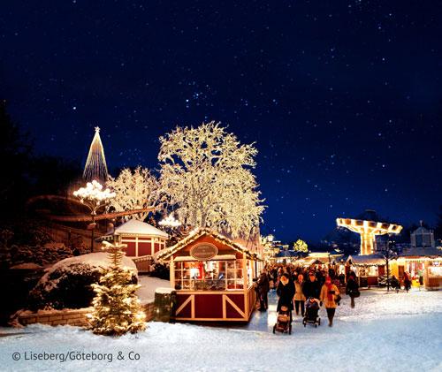 Winter und Weihnachten in Göteborg