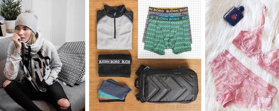 Geschenkidee: Unterwäsche und Kleidung aus Schweden von Björn Borg