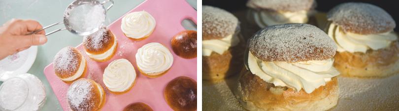 Fettisdagen mit Semla am fetten Dienstag in Schweden