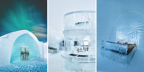 Eishotel: Schwedisches Wintererlebnis in Schwedisch Lappland