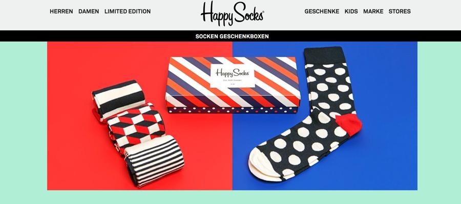 Geschenkidee: Socken aus Schweden von Happy Socks