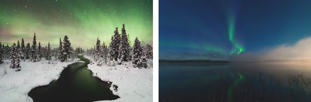 Nordlichter in Schweden: Schwedische Wintererlebnisse in Nordschweden