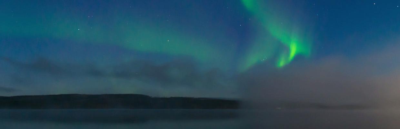 Nordlicht in Nordschweden und Schwedisch Lappland