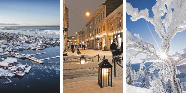 Winterzauber und Winterreisen in Schweden und Schwedisch Lappland