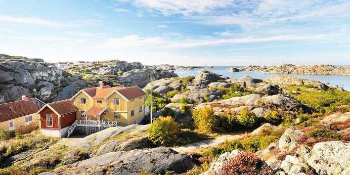 Suche nach Ferienhaus an der Schärenküste in Schweden