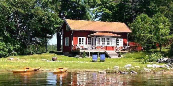 Suche nach Ferienhaus am See in Schweden
