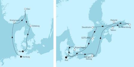Reise-Geschenk: Kreuzfahrt nach Schweden