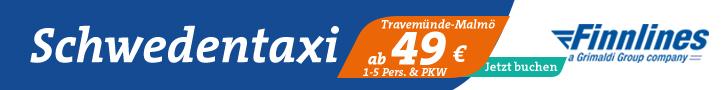Fähren-Angebot nach Schweden von Finnlines