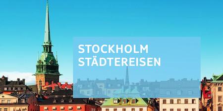 Reise-Geschenk: Stockholm Städtetrip