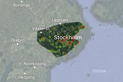 Ferienhaus-Suche in Stockholm