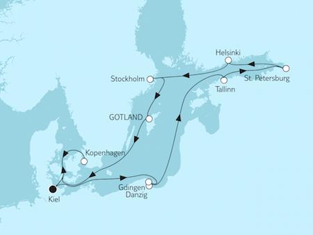Schweden-Kreuzfahrt nach Stockholm mit TUI Cruises