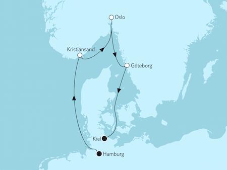 Schweden-Kreuzfahrt nach Göteborg mit Mein Schiff