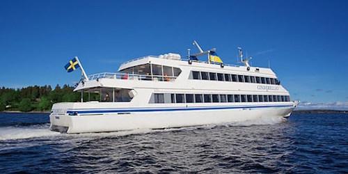Ausflug mit dem Boot in die Stockholmer Schären