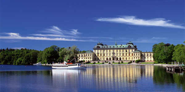 Bootsfahrt nach Drottningholm im Stockholmer Umland